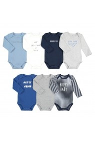 Set 7 body-uri La Redoute Collections GGD402 multicolor