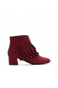 Botine La Redoute Collections GEZ081 bordo
