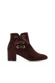Botine La Redoute Collections GGQ472 maro