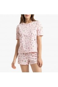 Pijama La Redoute Collections GGF572 roz