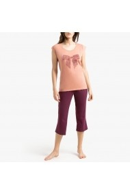 Pijama La Redoute Collections GGF595 bordo