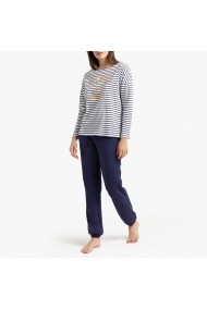 Pijama La Redoute Collections GGF659 alb