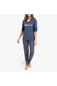 Pijama La Redoute Collections GGF667 albastru