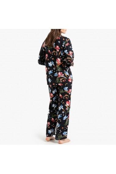 Pijama La Redoute Collections GGH527 negru