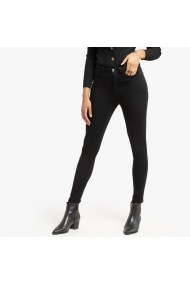 Jeansi slim La Redoute Collections GGQ221 negru - els