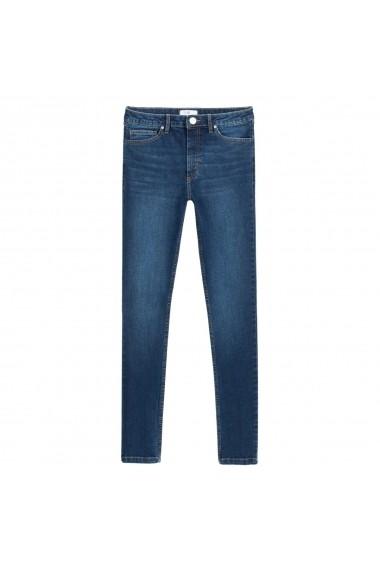 Jeansi skinny La Redoute Collections GGQ230 albastru
