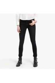 Jeansi skinny La Redoute Collections GGQ235 negru