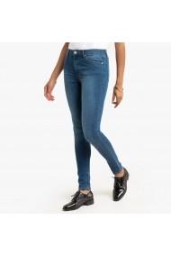 Jeansi skinny La Redoute Collections GGQ235 albastru