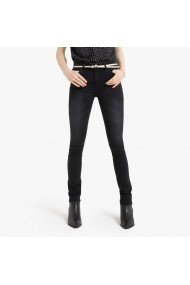 Jeansi slim La Redoute Collections GGQ256 negru