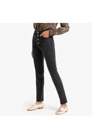 Jeansi slim La Redoute Collections GGQ556 negru - els