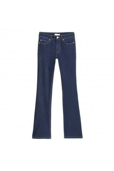 Jeansi bootcut La Redoute Collections GGQ272 bleumarin