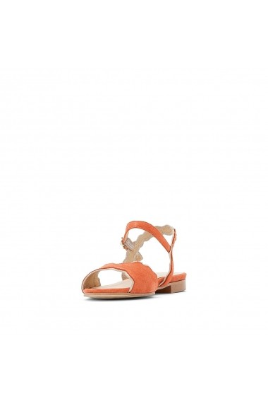 Sandale plate La Redoute Collections GFV046 portocaliu