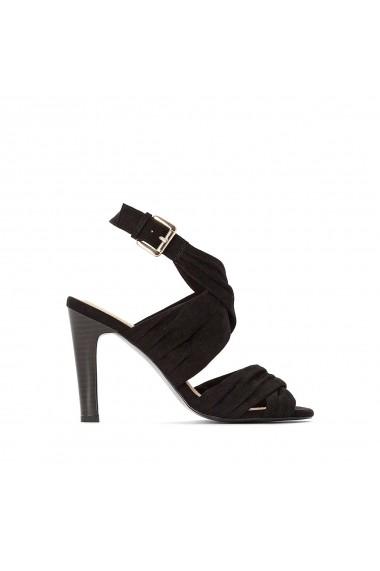 Sandale La Redoute Collections GFL002 negru