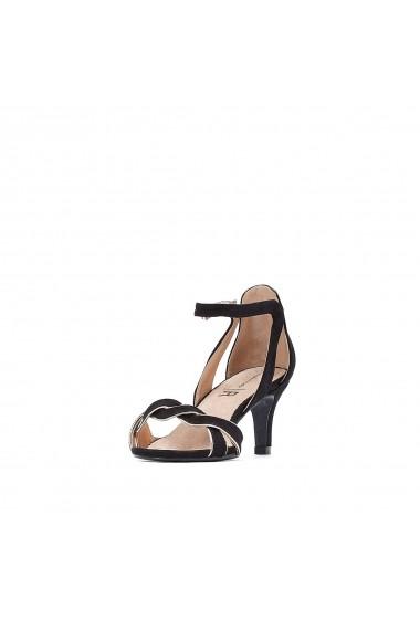 Sandale La Redoute Collections GFU946 negru - els