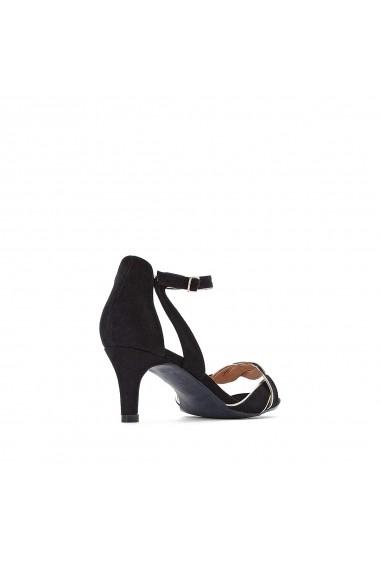 Sandale La Redoute Collections GFU946 negru