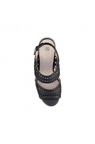 Sandale La Redoute Collections GFZ256 negru