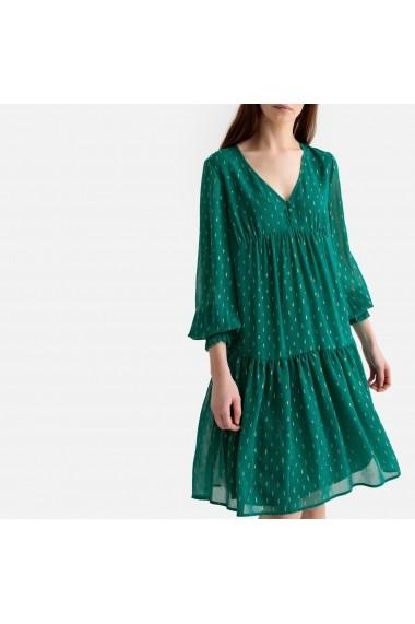 Rochie de zi La Redoute Collections GFU309 verde