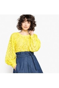 La Redoute Collections Blúz LRD-GEW241-yellow Sárga
