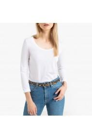 Bluza alba cu maneca lunga La Redoute Collections GGO399