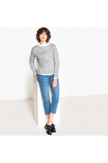Pulover La Redoute Collections GFB971 gri - els