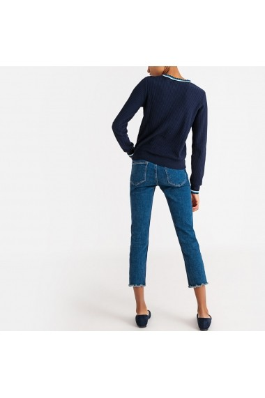 Pulover La Redoute Collections GFS241 bleumarin - els