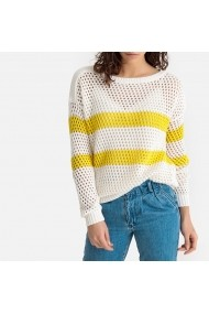 Pulover La Redoute Collections GFT112 alb
