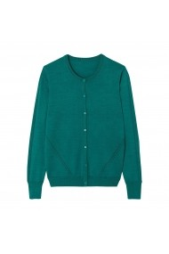 Cardigan La Redoute Collections GHX969 verde