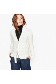 Cardigan La Redoute Collections GEY793 alb