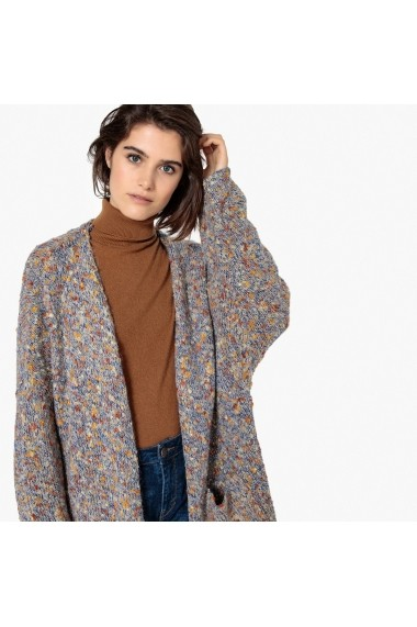 Cardigan La Redoute Collections GEY810 albastru