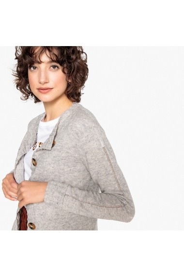 Cardigan La Redoute Collections GEY813 gri