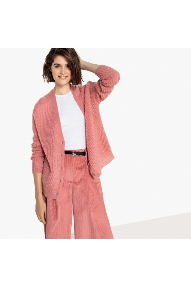 Cardigan La Redoute Collections GFF601 roz