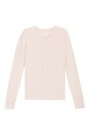 Cardigan La Redoute Collections GDI456 nude