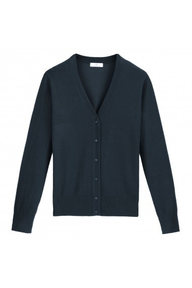 Cardigan La Redoute Collections GGK308 bleumarin