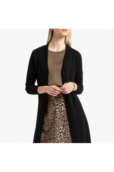 Cardigan La Redoute Collections GGN154 negru