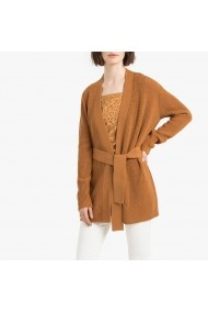 Cardigan La Redoute Collections GGN157 camel