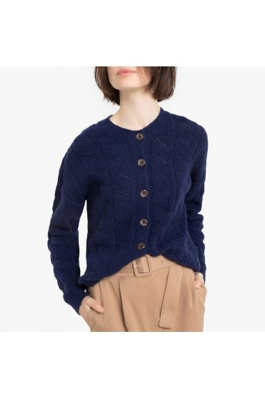 Cardigan La Redoute Collections GGO779 bleumarin
