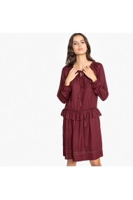 Rochie La Redoute Collections GFH686 bordo