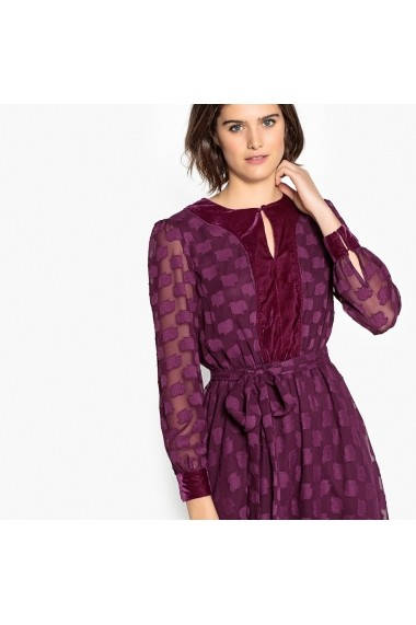 Rochie La Redoute Collections GFJ289 bordo