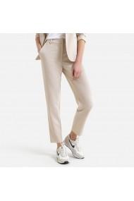 Pantaloni slim La Redoute Collections GGM115 bej