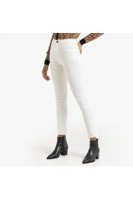 Pantaloni skinny La Redoute Collections GGM116 alb