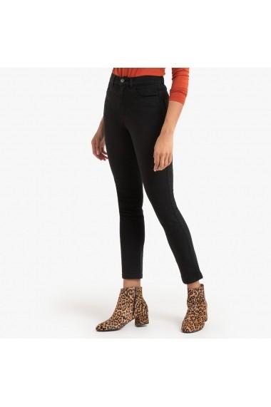 Pantaloni skinny La Redoute Collections GGM116 negru