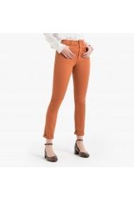 Pantaloni skinny La Redoute Collections GGM116 maro