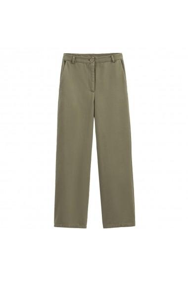 Pantaloni largi La Redoute Collections GGM079 kaki