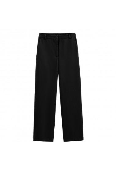 Pantaloni largi La Redoute Collections GGM079 negru