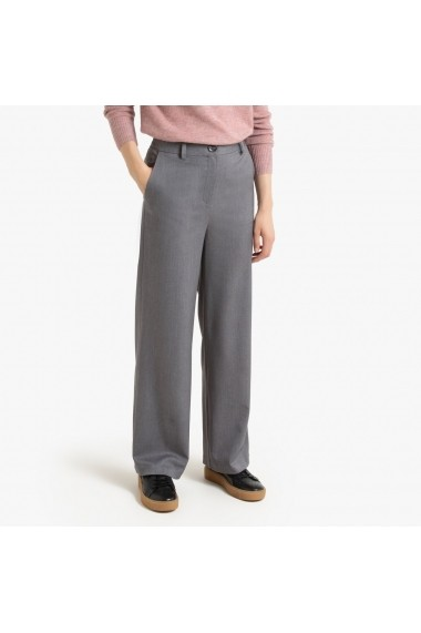 Pantaloni largi La Redoute Collections GGM084 gri