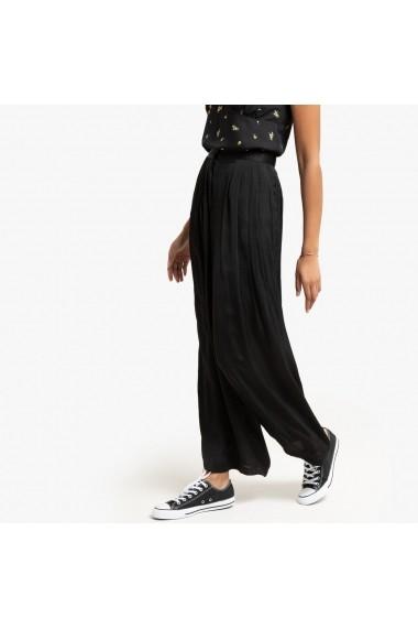 Pantaloni largi La Redoute Collections GGP623 negru