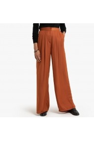 Pantaloni largi La Redoute Collections GGP623 maro