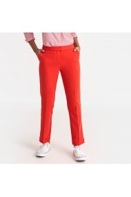Pantaloni La Redoute Collections GEH574 rosii - els