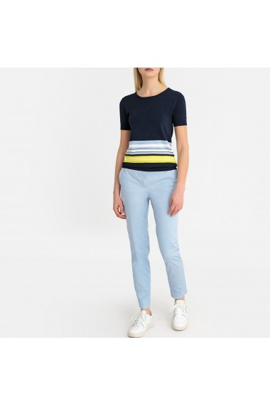 Pantaloni drepti La Redoute Collections GFS136 albastru - els
