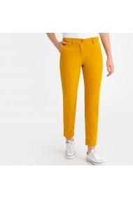 Панталон La Redoute Collections GFS136-2895 жълто
